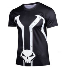 2016 brand new renewable man short sleeve T-shirt Male summer leisure skin-tight campaign t-shirts wholesale and retail