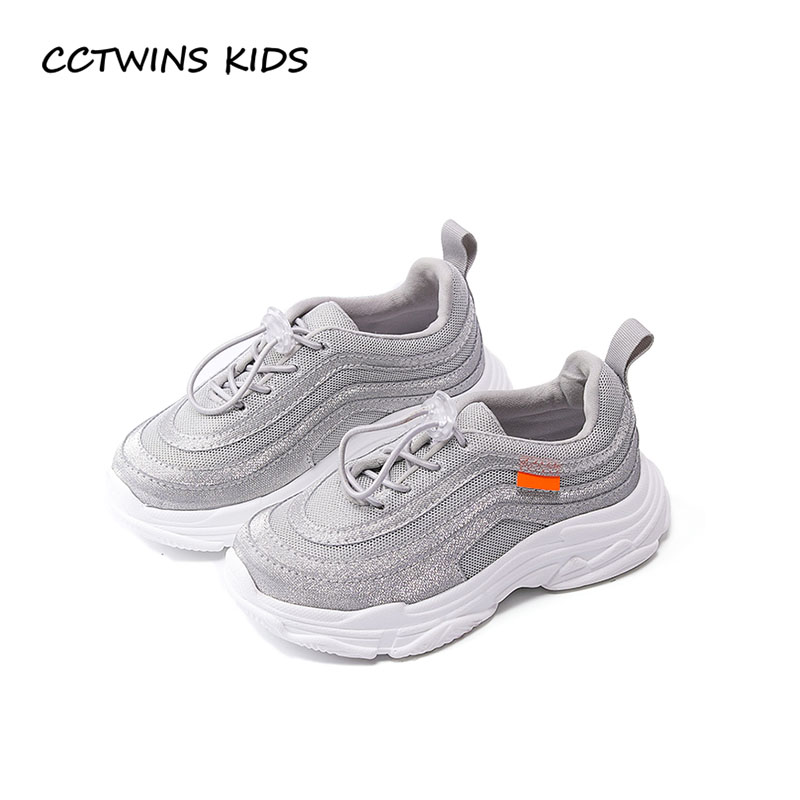 CCTWINS KIDS 2018 Spring Baby Boy Fashion Mesh Shoe Children Black Casual Trainer Girl Brand Sport Sneaker Toddler F2167