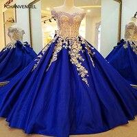 LS33042 вечернее платье Королевский синий вечернее платье кружева длинный корсет спиной бальное платье атласные вечерние платья платье манти