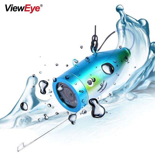 ViewEye Tek Sualtı Balıkçılık Kamera Aksesuarları Için 7 inç Balık Bulucu 12 LED IR Kızılötesi Lamba Veya Parlak Beyaz LED