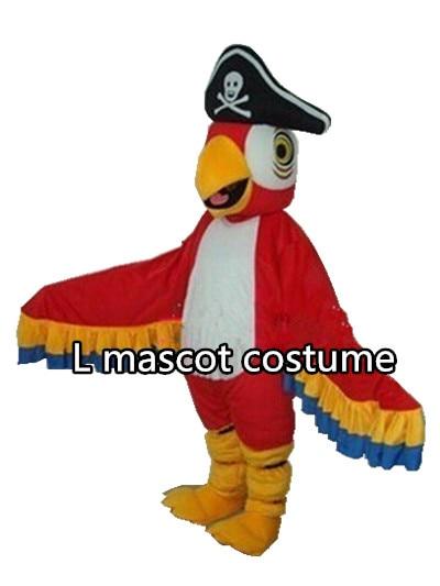 Pirates parrot mascot costume parrot bird cartoon costume adult size free shipping  sc 1 st  AliExpress.com & Pirates parrot mascot costume parrot bird cartoon costume adult size ...