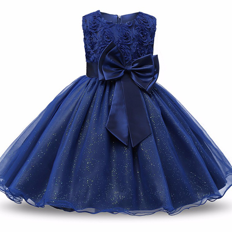Baby Frock Designs Toddler Girl Party Wear Kids Clothes Infant Tutu 1 Year Birthday  Dress For Girl Baptism Newborn Bebes Vestido 66248e9f3835