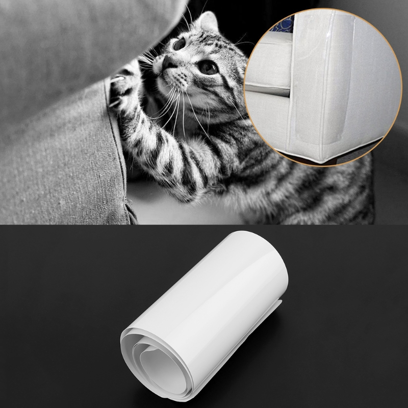 Sofa Guard cat claw protector Pinless self adhesie