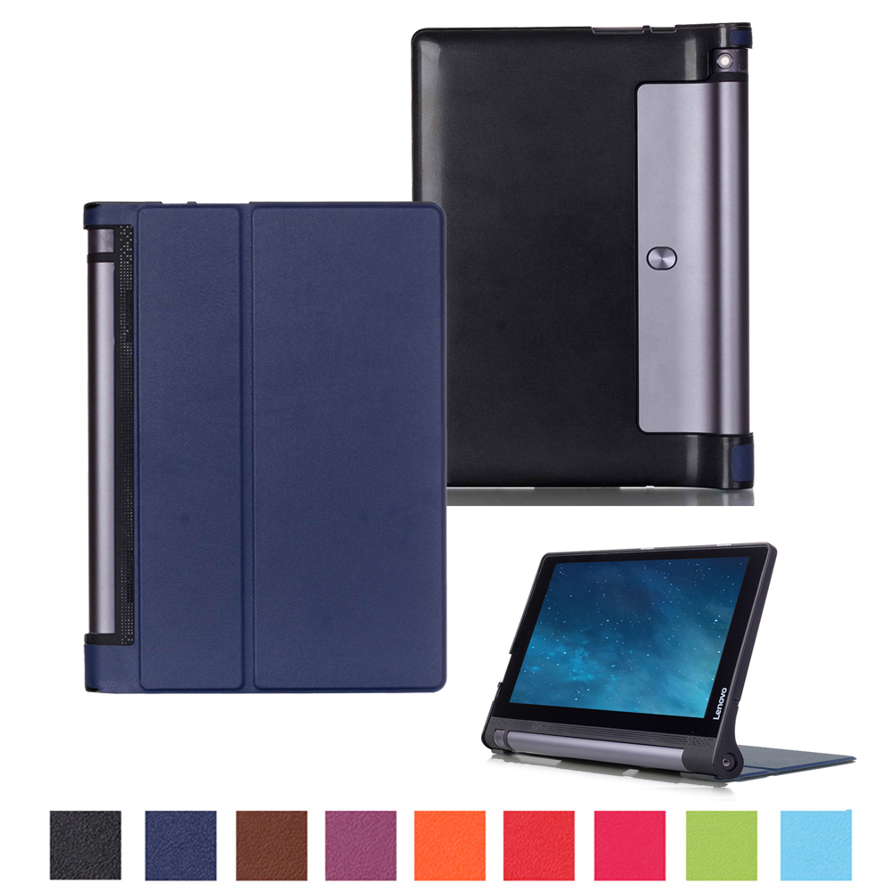 For Lenovo YOGA Tab 3 10 X50F X50 M L 10.1 Cover Case PU Leather Cases for Yoga Tab3 10 YT3-X50L YT3-X50F X50M 10Tablet Covers new original for lenovo thinkpad yoga 260 bottom base cover lower case black 00ht414 01ax900