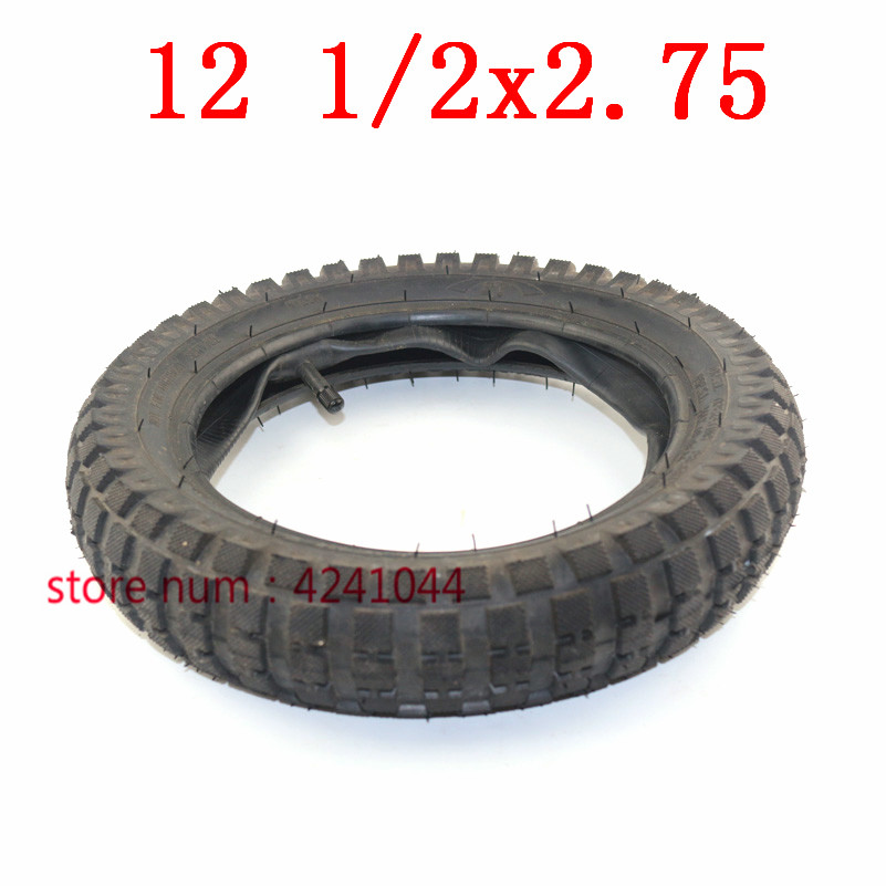 12 1/2 x 2.75 tyre 12.5 x 2.75 Tire or Inner Tube For 49cc Motorcycle Mini Dirt Bike Tire MX350 MX400 Scooter-in Tyres from Automobiles & Motorcycles