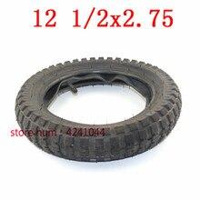 Neumático o tubo interno para motocicleta, Mini neumático sucio de bicicleta MX350 MX400, 12, 1/2 2,75 x, 12,5x2,75