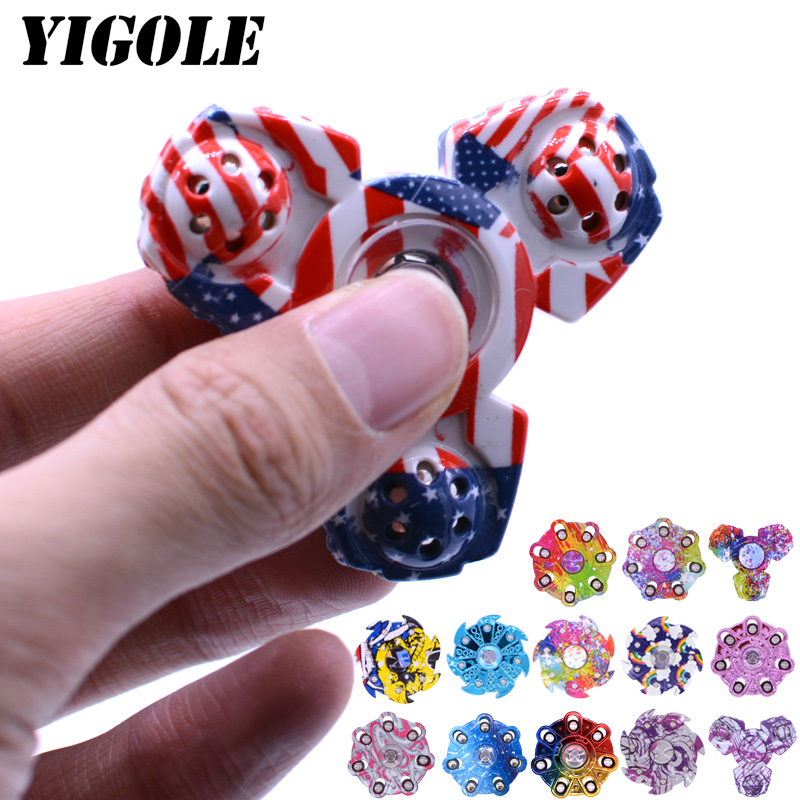 YIGOLE New Style Fidget Spinner Toy High Quality EDC HandSpinner Anti Stress Reliever And ADHD Hand Spinners