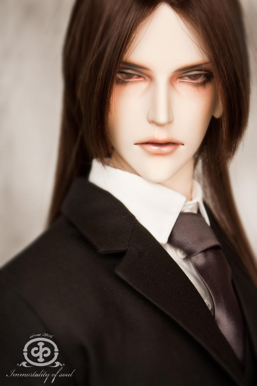 1/3rd  80CM BJD nude doll lacrimosa,BJD/SD doll big boy.not include clothes;wig;shoes and other  access&ies