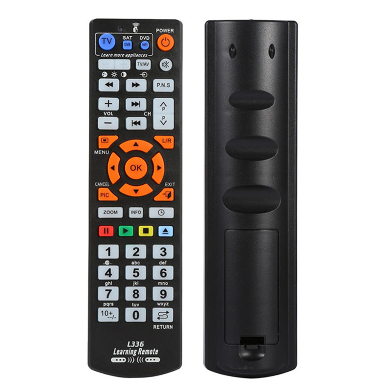 High Quality Universal IR Smart Remote Control Controller With Learn Function For TV VCR CBL DVD SAT-T VCD CD HI-FI universal tv dvd vcd remote controller 2 aa