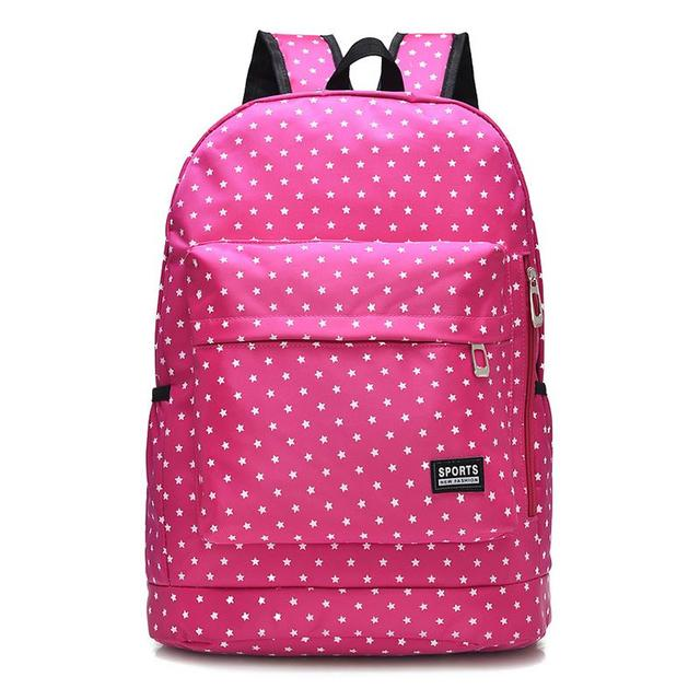 5bbb646b9252 kanken classic canvas backpack dot big capacity student school bag casual  travel backpack Cute Korean style shoulder bag