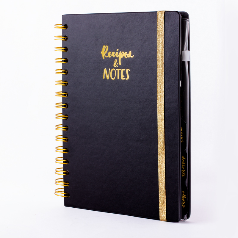 Image 5 - Flexy Cover Recipes & Notes Journal Wire O Ruled Lined Cooking Notebook Journal-in Notebooks from Office & School Supplies