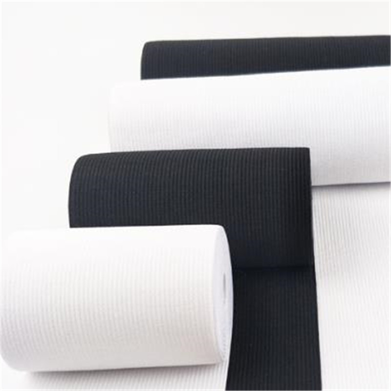 3-40cm wide white/black DIY sewing elastic tapes Crochet belt elastic rubber band Corset belt making(China)