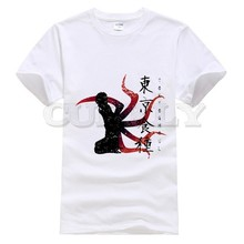 2019 new T-shirt Short sleeve  Tokyo Ghoul Cool Japan Anime Cartoon comics Summer dress men tee street Funny t shirt Retro