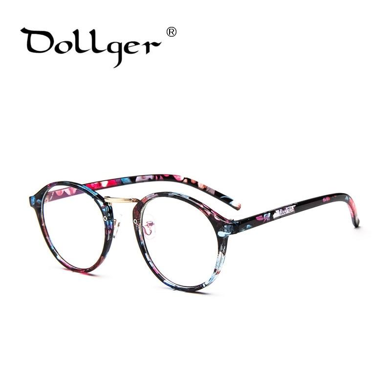Dollger new style Retro Round eyeware clear lens sunglasses glasses ...
