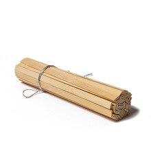 50pc 18cm Bamboo Stick DIY Matchsticks Mini Craft Sticks For Children  Adult Creative Home Decoration Artwork