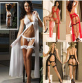sexy lingerie sexy lace nightgown extension of foreign trade increase in pajamas long dress 3 colors