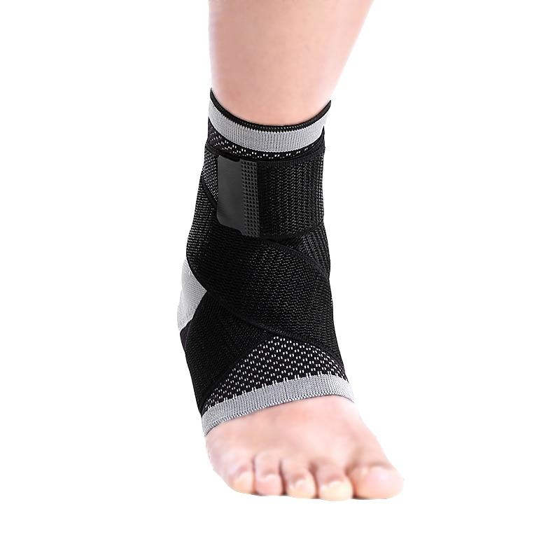 3D vävning ankel ligament skydd silikagelkudde insida tryck bälte - Sportkläder och accessoarer