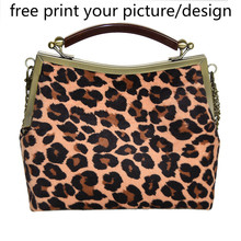 customized-print womens bag small cloth picture photo custom retro chain DIY handbag Messenger canvas shoulder fashion