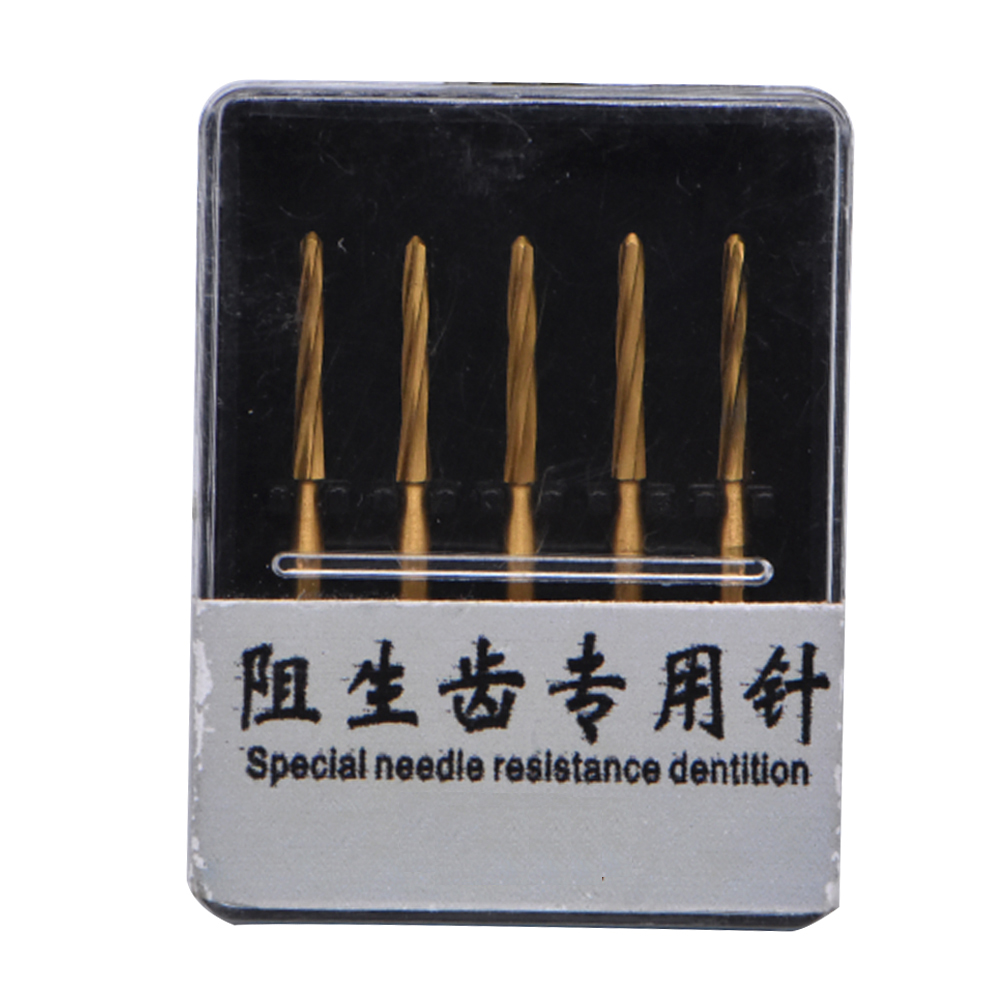 5pcs Dental Material High Speed Drills Tungsten Steel Carbide Dental Burs Bits Tooth Extraction Burs For Dentist Lab Supplies