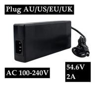 54.6V 2A charger for 48V 2A Battery charger DC Socket/connector for 48V 13S Lithium Ebike battery