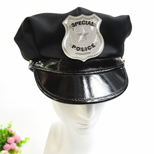 c5e0fd966c1d9 2017 New Unisex Badge Octagonal Military Hat Flat Top Police Cap America  Captain Hat Stage Performance Hats For Men And Women