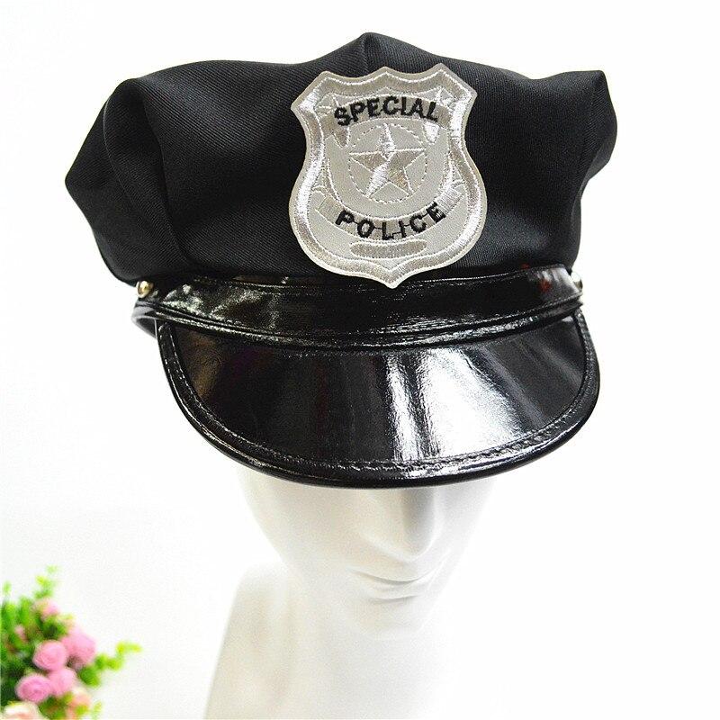 2017 Nuovo Unisex Distintivo Ottagonale Del Cappello Militare Flat Top Cap Polizia America Del Capitano Cappello Di Prestazione Della Fase Di Cappelli Per Gli Uomini E Delle Donne Paghi Uno Prendi Due