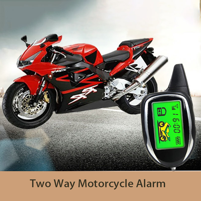 все цены на Master Racing Two Way Motorcycle Alarm Theft Protection Security System Motor Multifunction Alarm with 2 LCD Remote Controls онлайн