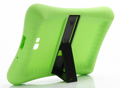 SM-T585 T580 Shock Proof Soft Silicone Rubber Case For Samsung Galaxy Tab A A6 10.1 2016 T580 T585 Case Cover Tablet Stand Funda