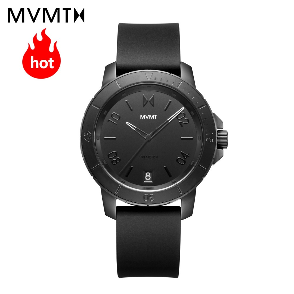 MVMT watch | Official flagship store Genuine fashion sports simple students men's male watch waterproof quartz watch 42mmdw недорго, оригинальная цена