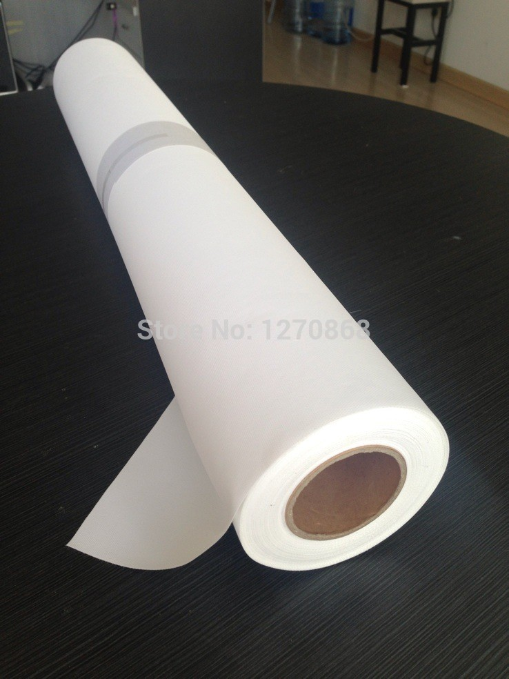 260g waterproof polyester inkjet canvas for digital printing 30 meters lone one roll