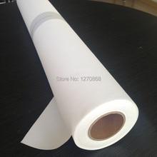260 г водонепроницаемые холсты из полиэстера со струйной печатью для цифровой печати 30 метров один рулон