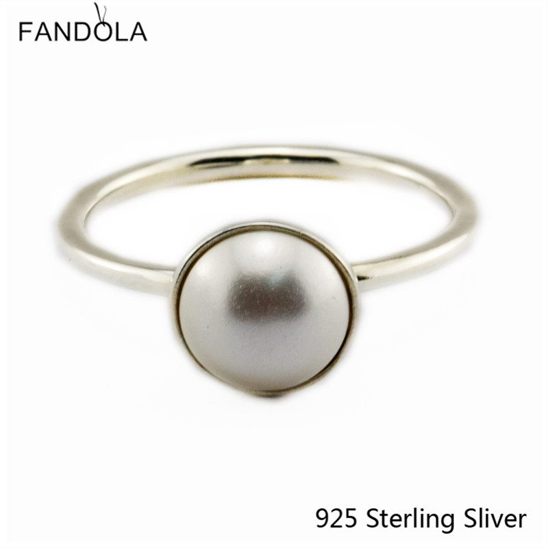 Ckk 925 sterling silber ringe für frauen leuchtende tropfen, weiß - Edlen Schmuck - Foto 3