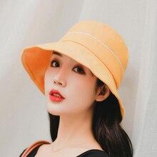 SUOGRY 2019 Fashion Hip Hop Harajuku Unisex Cap Bucket Hat Summer Outdoor Cotton Fisherman Caps For Men Women Street Sun Visor