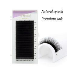 60cases J B C D 7-15mm ,16sheets/case mink extension eyelashes false eyelash