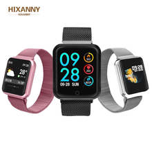 HIXANNY Sports Smart Watch fitness bracelet activity tracker heart rate monitor blood pressure for ios Android apple iPhone 6 7