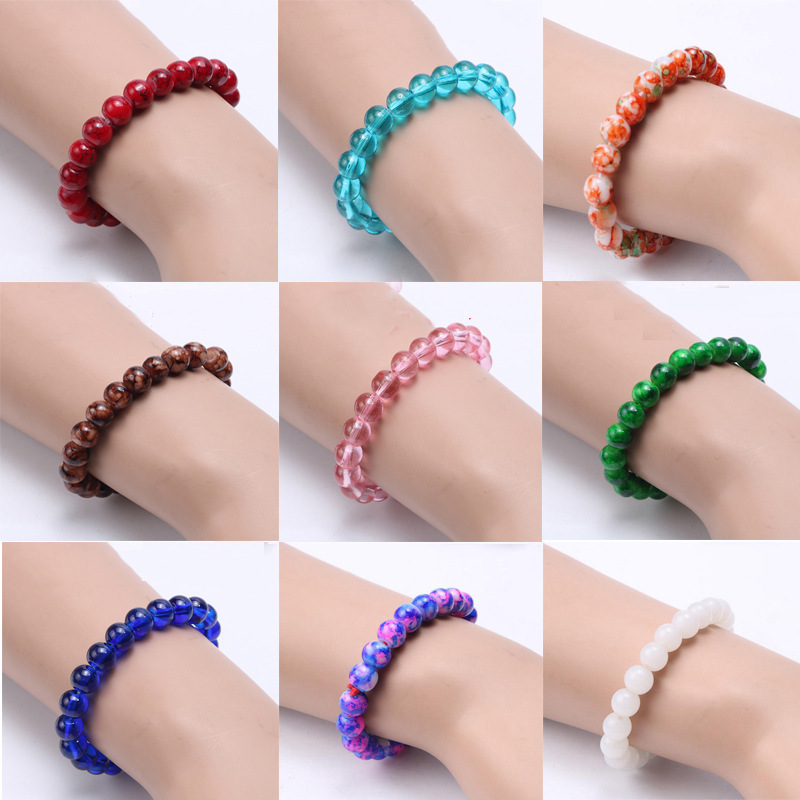 Bead Women Bracelet Fashion 2018 New Beads Bracelets Women Simple Classic Stone Bead Charm Bracelet Fahion Jewelry Gift Armband