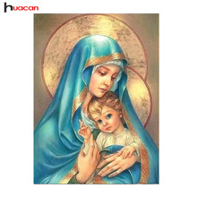 Diamond Painting Religion Ikon Full Fyrkantig Diamond Broderi Ikon Bild Rhinestones Diamond Mosaic Cross Stitch Heminredning