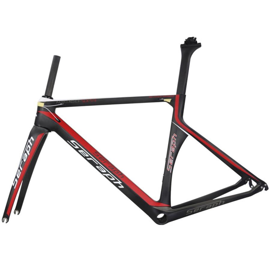 2019 Hot Sale Colorful Aero Carbon Fiber T800 Road Bike Frameset TT-X1 Accepted Custom Paint