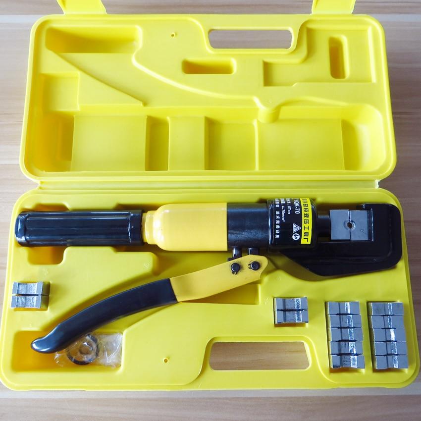 цена на 4-70mm2 PowerPole connectot plug Crimper 50A 75A 120A 180A 175A 350A 600V Battery Cable Crimp Crimping Hydraulic Crimper