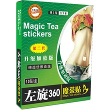 30pcs/lot L-carnitine Tea Sticker Women Men Slimming Sticker Patch body Weight Loss Products High Quality Body Fat Loss