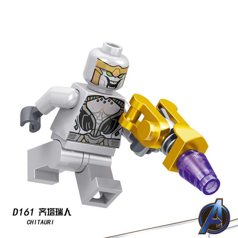 Vingadores 4 final capitão américa marvel homem de ferro thanos deadpool hulk super heróis mini figuras blocos de construção legoinglys brinquedos