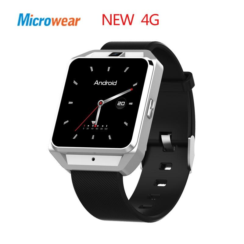 Galleria fotografica Microwear H5 4G astuto della vigilanza del Android ios phone MTK6737 Quad Core 1G RAM 8G ROM GPS WiFi Frequenza Cardiaca <font><b>smartwatch</b></font>