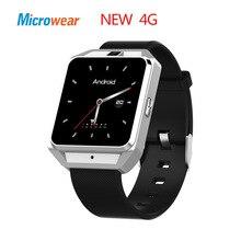 Ограниченное предложение Microwear H5 4 г smart watch Android ios Телефон MTK6737 4 ядра 1 г Оперативная память 8 г Встроенная память gps Wi-Fi сердечного ритма smartwatch