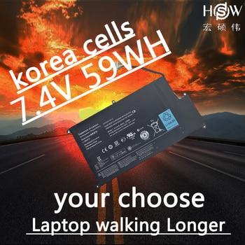 HSW  LAPTOP battery 7.4V 59WH FOR Lenovo IdeaPad U410-IFI U410 L10M4P11 bateria akku