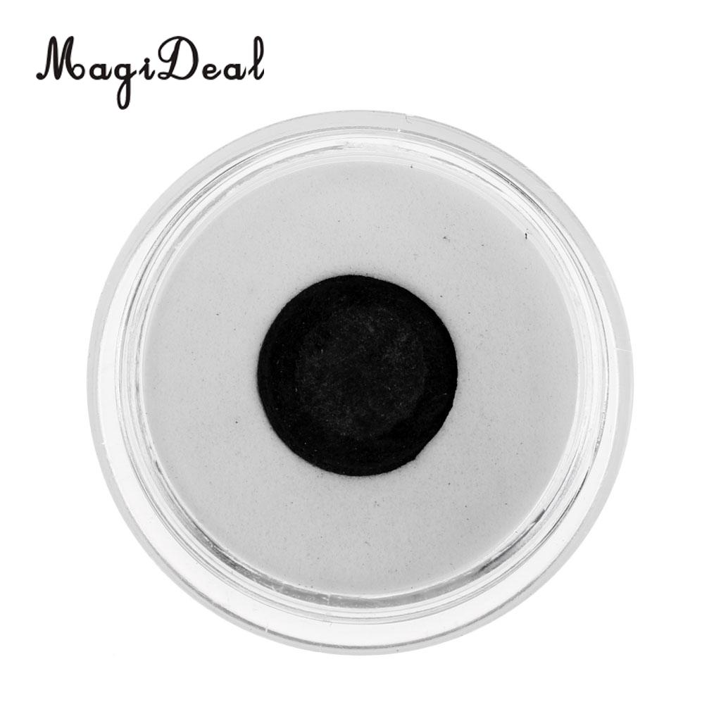 MagiDeal High Quality 11mm Soft Pigskin Leather Billiard Pool Cue Tips Black Table Game Professional Snooker Billiard Accessory