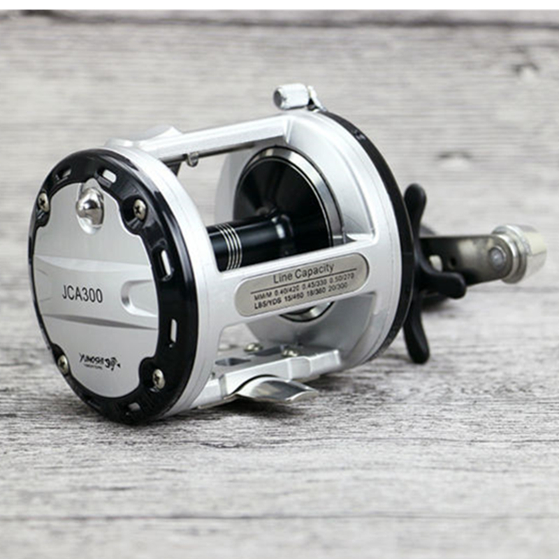 Trolling Reel Fishing 12+1BB Drum wheel carp Reels Centrifugal Brake Casting Sea Fishing Reel Saltwater Baitcasting Reel Coil metal round jigging reel 6 1 bearing saltwater trolling drum reels right hand fishing sea coil baitcasting reel