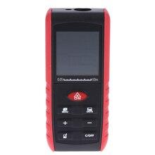 60 M E60 láser Digital Medidor de Distancia Volumen Área de Medición del telémetro del Telémetro con Indicación del Ángulo