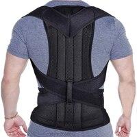 Health Care Back Posture Corrector Clavicle Spine Brace Shoulder Lumbar Brace Support Belt Posture Correction Prevents Back Pain