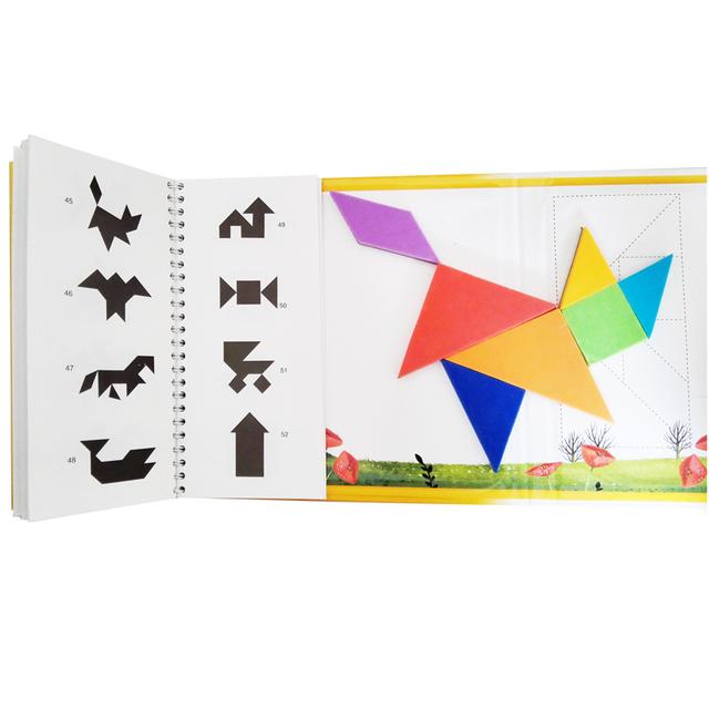 Grand 360 casse-tête Magnétique Voyage Tangram Un Éducatifs Enfants Jouet Défi Iq livre de magie Pour 3-100 Ans Un Cadeau pour La Famille