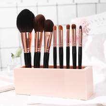 Silicone Makeup Brush Lipsticks Organizer Holder Cosmetic Tools Storage Rack New Arrival(China)